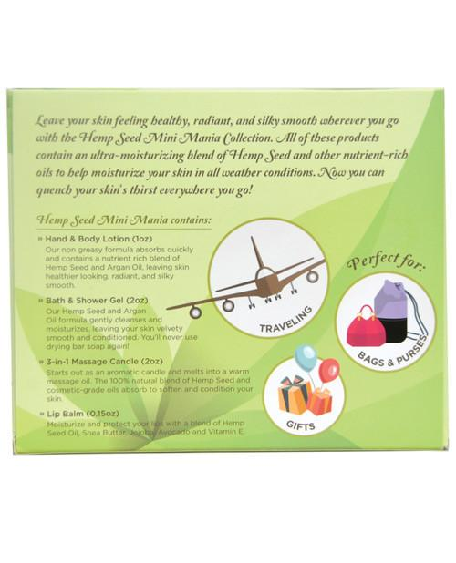 Earthly Body Hemp Seed Mini Mania Kit - Guava Lava - My Home and Pet