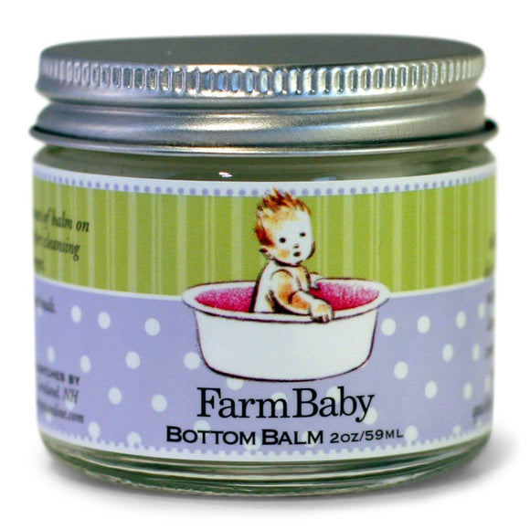 Healing Baby Bottom Cream - Lavender Essential Oil 2oz