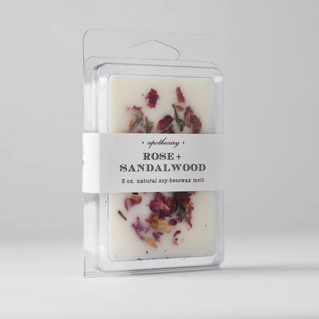 Rose Sandalwood - Wax Melt 6 Pack 3oz