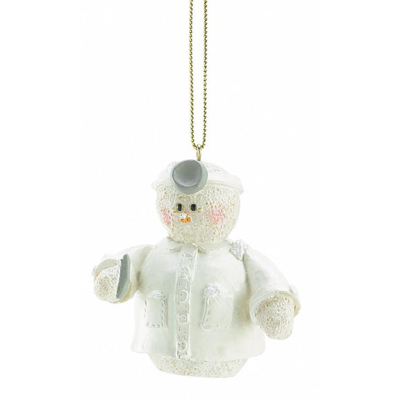 Snowberry Cuties Dentist Ornament - Cortez Candle's