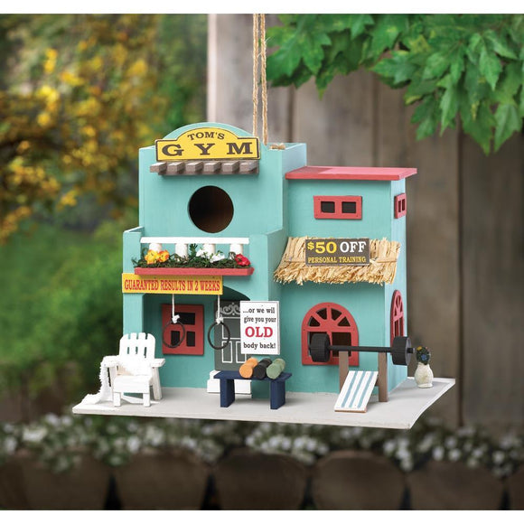 Birdhouse Birds Workout Gym - Cortez Candle's - 1