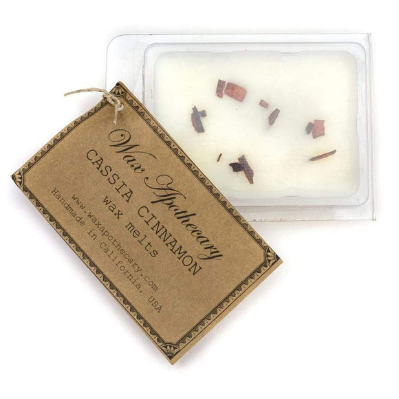 Wax Melt Cassia Cinnamon 6pc