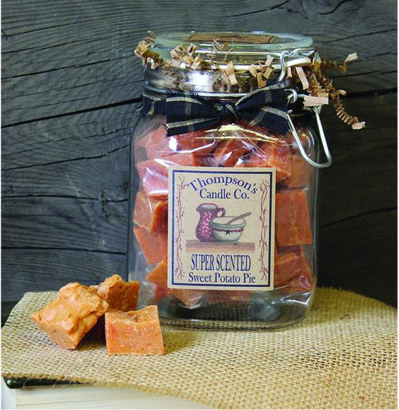 Crumbles - 11oz. Sweet Potato Pie in Class Canister - My Home and Pet