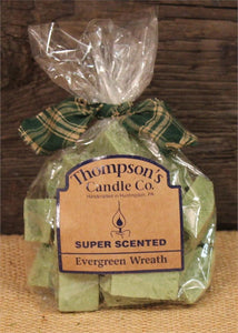 Crumbles - 6oz. Evergreen Wreath Bag - Cortez Candle's - 1