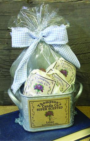 Gift Tote with 3 Super Scented Sachets - Cortez Candle's