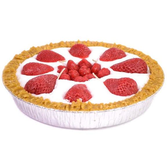 9 Inch Scented Strawberry Pie Candle - My Home and Pet