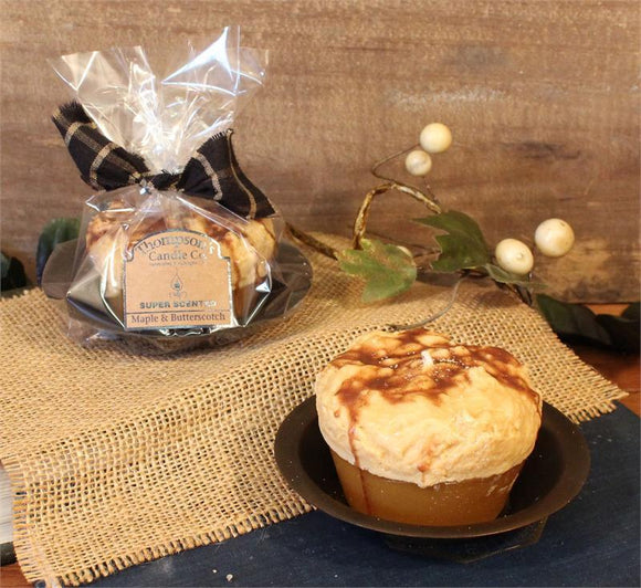 Cupcake Maple & Butterscotch Candle - My Home and Pet