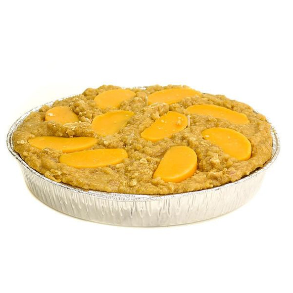 9 Inch Scented Peach Pie Candle - My Home and Pet