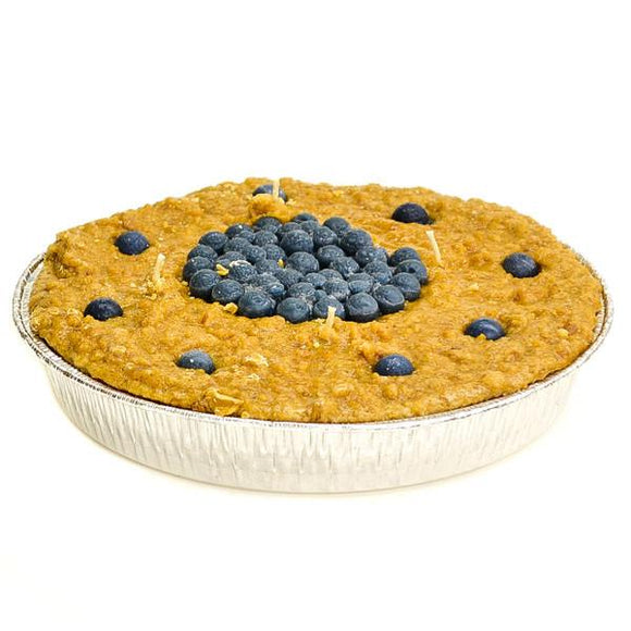 9 Inch Scented Blueberry Pie Candle - My Home and Pet