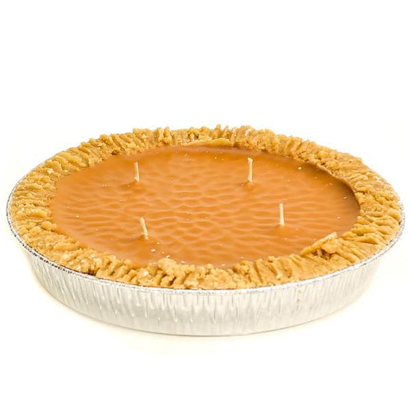 9 Inch Scented Pumpkin Pie Candle - My Home and Pet
