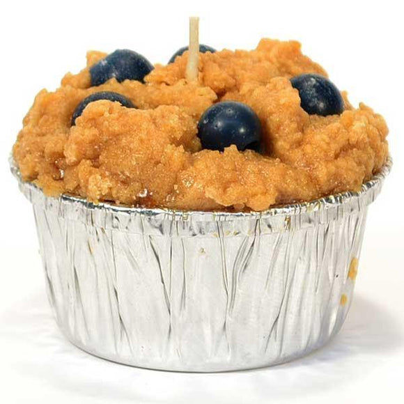 Muffin Blueberry Candle - Cortez Candle's