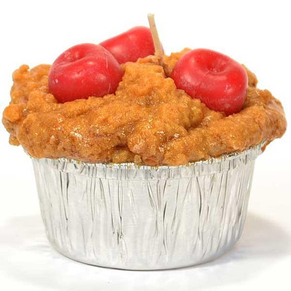 Muffin Cherry Candle - Cortez Candle's