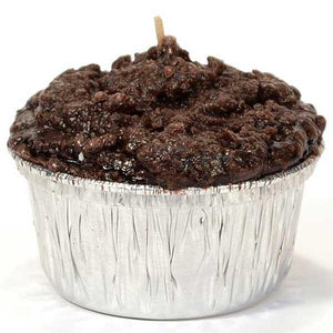 Muffin Chocolate Fudge Candle - Cortez Candle's