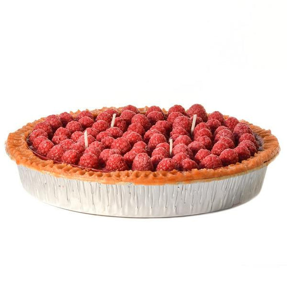 Scented Raspberry Cream Pie Candle - Large