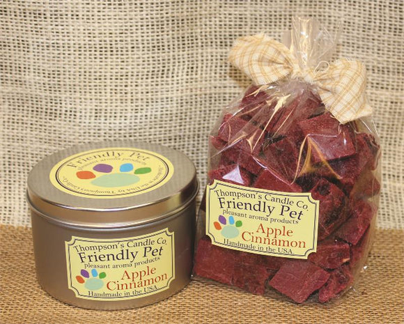 Friendly Pet Apple Cinnamon Crumbles- 8oz - My Home and Pet