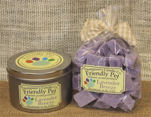 Friendly Pet Lavender Breeze Crumbles- 8oz
