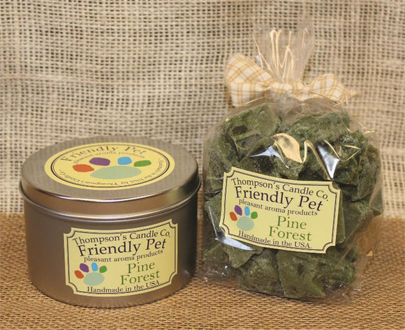 Friendly Pet Pine Forest Crumbles- 8oz