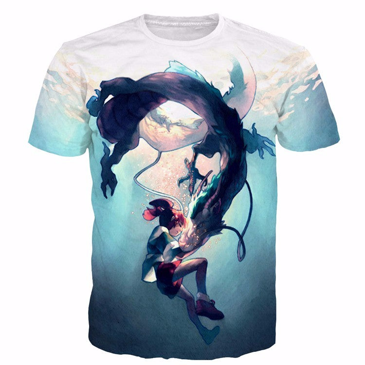 Design Printed And Transfer To T Shirts