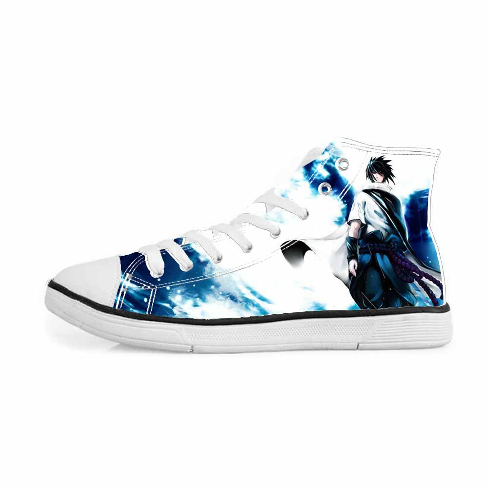 Sasuke Uchiha Tie Dye Style Naruto Abstract Blue Stylish ...