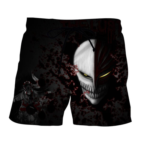 Bleach Ichigo Hollow Face Mask Cool Style Basic Shorts