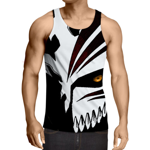 Bleach Ichigo Hollow Mask Draw Color Print Dope Tank Top