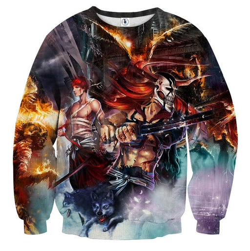 Bleach Ichigo Hollow Full Form Realistic Concept Sweatshirt