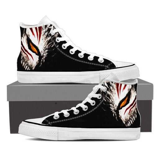 Bleach Ichigo Face Mask Art Drawing Streetwear Style Converse Shoes - Konoha Stuff