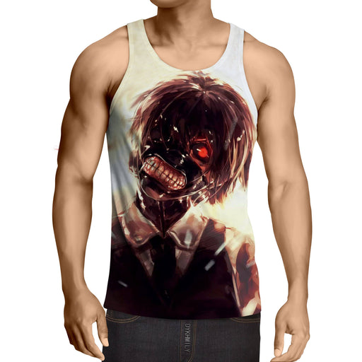 c0ff5340 Japanese Anime Workout Tank Tops & Sleeveless Shirts for Men — Page ...