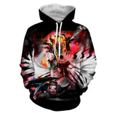 Bleach Hollow Ichigo Mask Fantasy Fan Art Winter Hoodie
