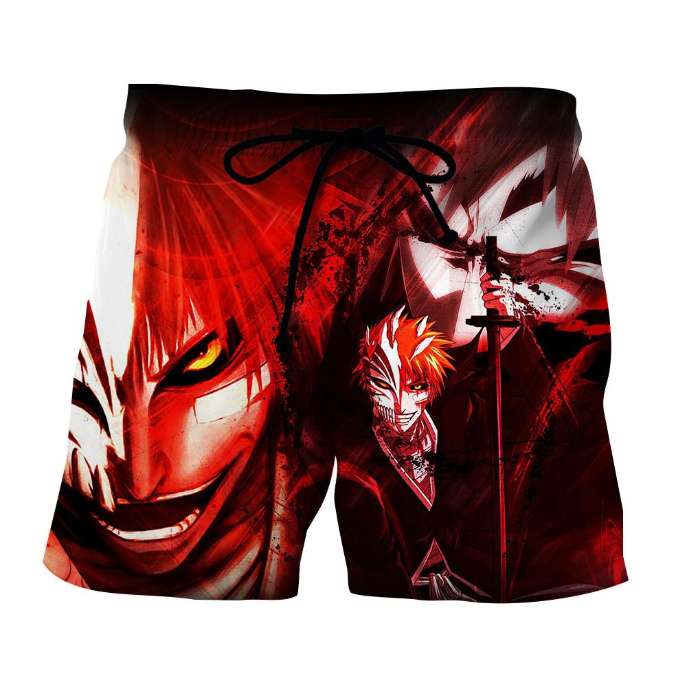 Bleach Ichigo Hollow Mask Velvet Vibe Art Concept Shorts