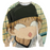 Big Windup Anime Mihashi Ren Funny Face 3D Print Sweater - Konoha Stuff