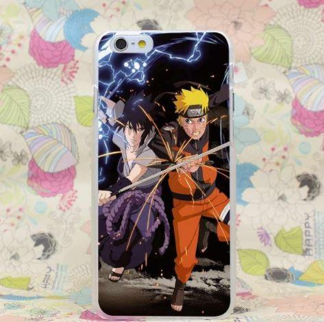 Naruto fight Sasuke Shippuden Chidori Cool Style Case for iPhone 4 5 6 7 Plus