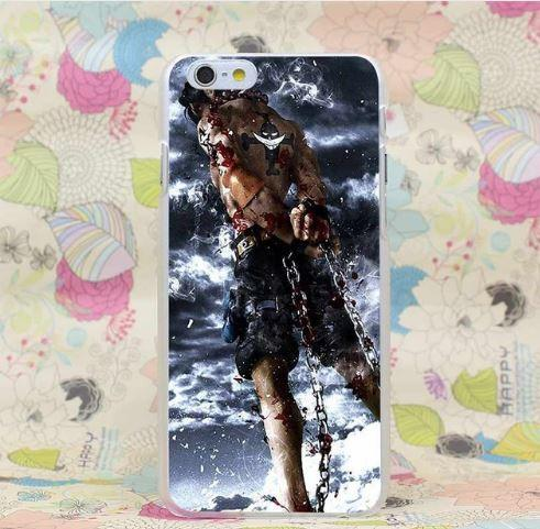 One Piece Portgas D. Ace Stunning Standing Design iPhone 4 5 6 7 Plus Case