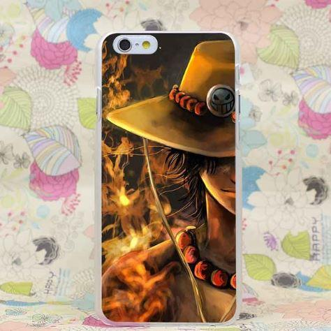 One Piece Portgas D. Ace Awesome New Design iPhone 4 5 6 7 Plus Case