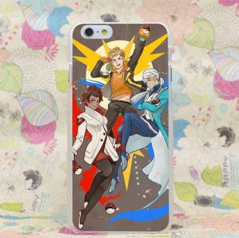 Pokemon Ultimate Valor Mystic Instinct Cool Design iPhone 4 5 6 7 Plus Case