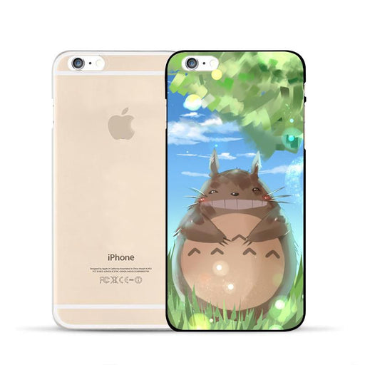 Totoro Paint Ghibli Studio Anime Cute Fan Art Design Case for iPhone 6 7 S Plus - Konoha Stuff