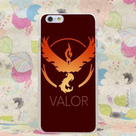 Pokemon Valor Team Symbol New Classic Design iPhone 4 5 6 7 Plus Case