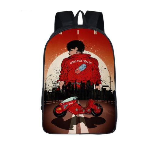 Akira 1988 Shotaro Kaneda Biker Design School Bag Backpack - Konoha Stuff
