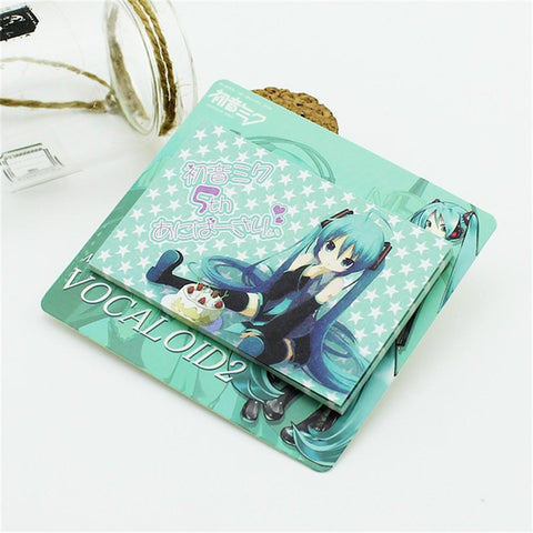 Anime Miku Hatsune Wonderful Vocaloid Japan Useful Blue Sticky Bookmark