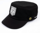 Attack On Titan Shingeki No Kyojin The Training Corps Logo Military Cap Hat - Konoha Stuff - 2