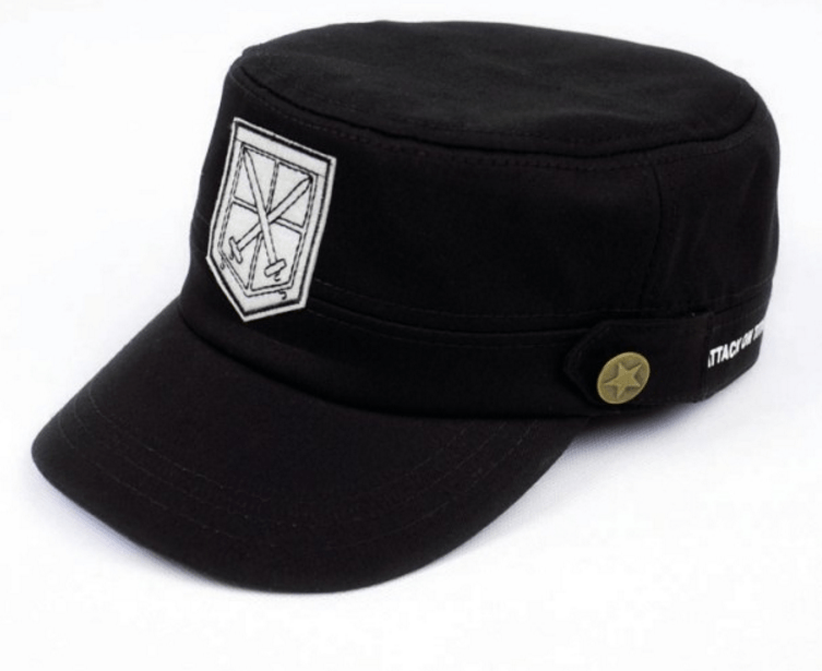 Attack On Titan Shingeki No Kyojin The Training Corps Logo Military Cap Hat - Konoha Stuff