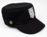 Attack On Titan Shingeki No Kyojin The Training Corps Logo Military Cap Hat - Konoha Stuff - 3