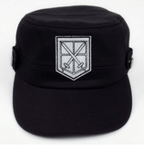 Attack On Titan Shingeki No Kyojin The Training Corps Logo Military Cap Hat - Konoha Stuff - 1