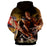 Attack on Titan Angry Reiner Braun Epic Bloody Blade Hoodie