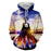 Attack on Titan Cool Back Pose Amazing Sunset Cadet Hoodie