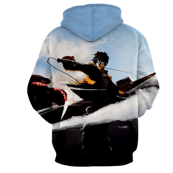 Attack on Titan Epic Survey Corps Intense Battle Hoodie