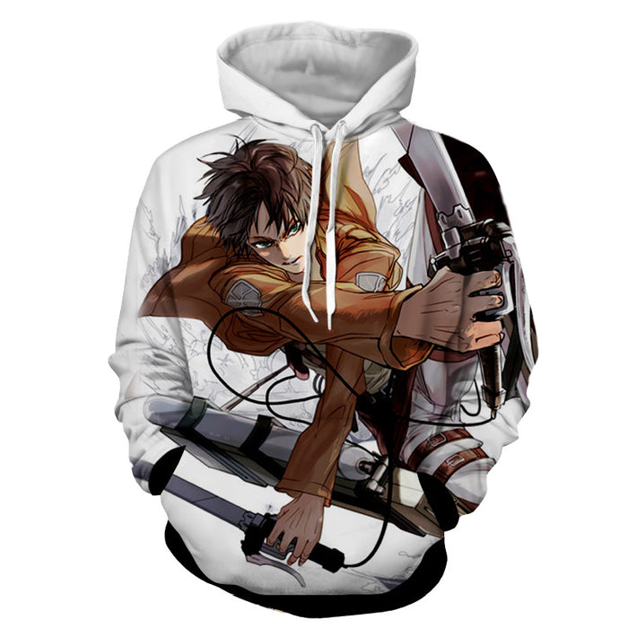 Attack on Titan Eren Yeager Training Corps Uniform Hoodie