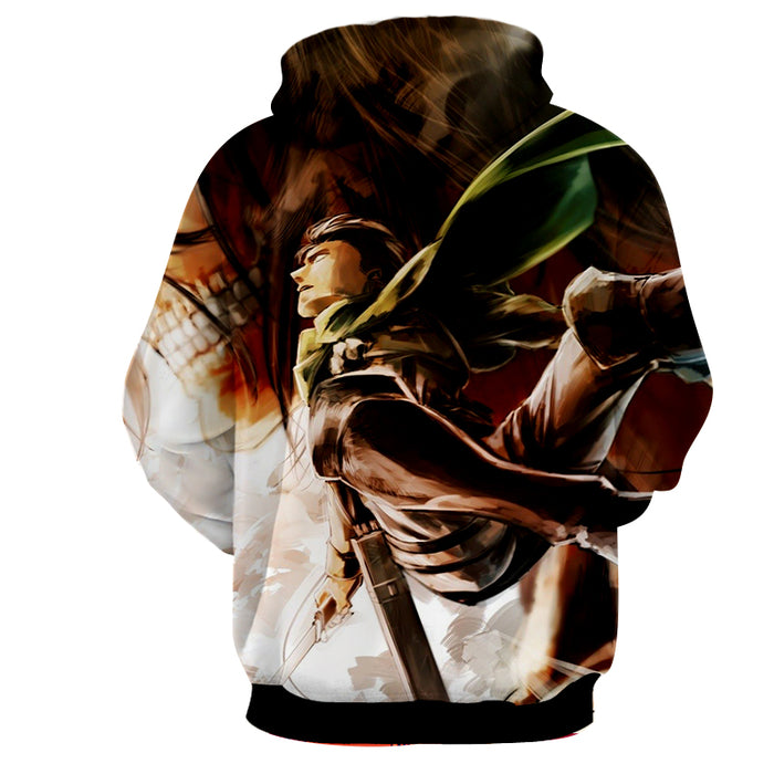 Attack on Titan Levi Ackerman Dope Aerial Swing Attack Hoodie