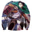 Attack on Titan Levi Scout Regiment Aerial Attack Sweatshirt