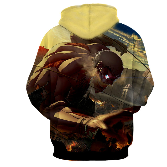 Attack on Titan Reiner Braun Armored Titan Destroyer Hoodie
